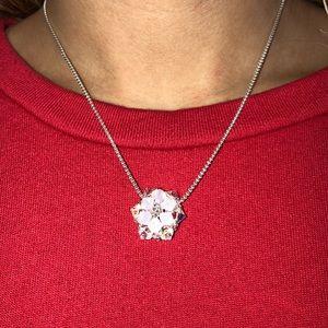 Sterling Silver Swarovski Crystal Star Necklace